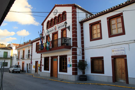 The town hall of Güevéjar
