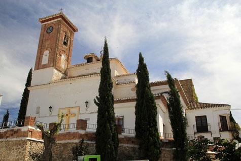 The church of Escúzar
