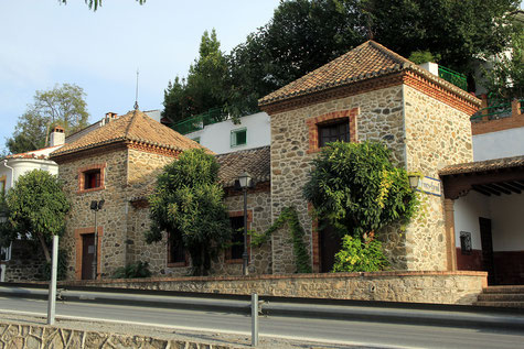 The old train station of Pinos de Genil