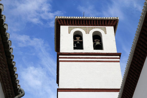 Detail of the church from La Zubia
