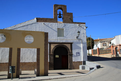 The church of Dehesas de Guadix