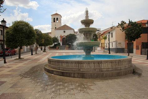 The main square of Moreda
