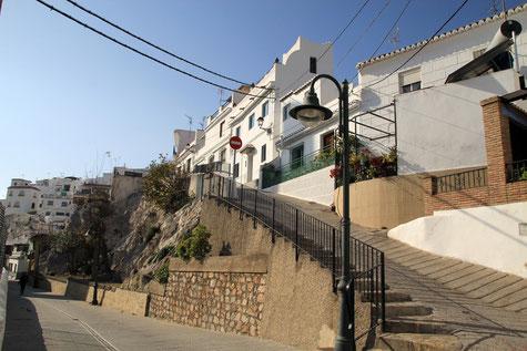 A street in La Caleta