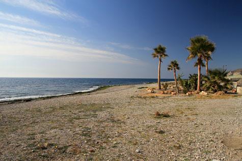The beach of Carchuna