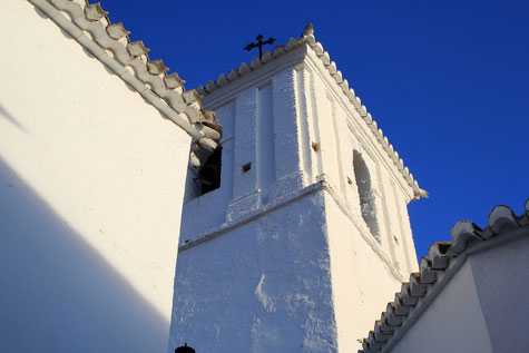 Detail of the church of Almegíjar