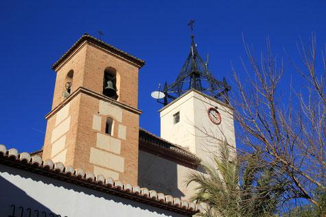 The church of Albuñuelas
