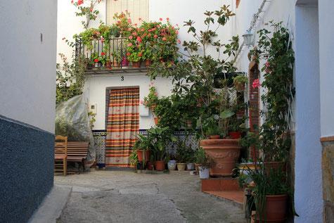 A charming street in Albuñuelas