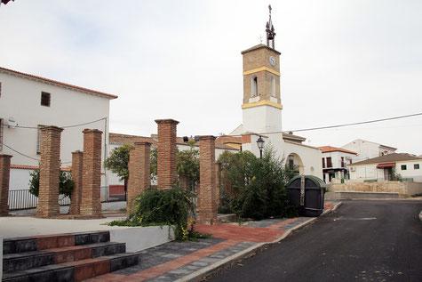 The church of Pedro Martinez