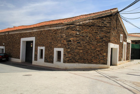 A street in Jerez de Marquesado