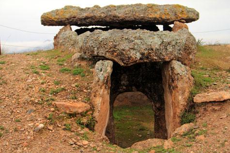 A dolmen in Gorafe