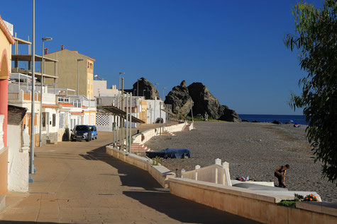 Melicena and its beach
