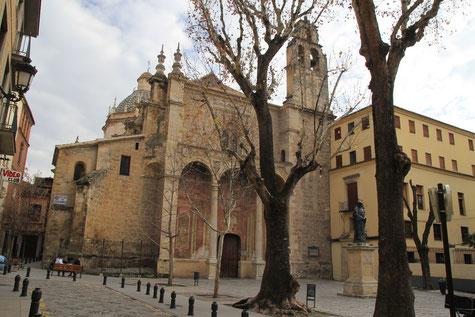 View on the church Santa Domingo