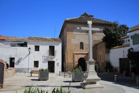 View on Inglesia San Bartolomé