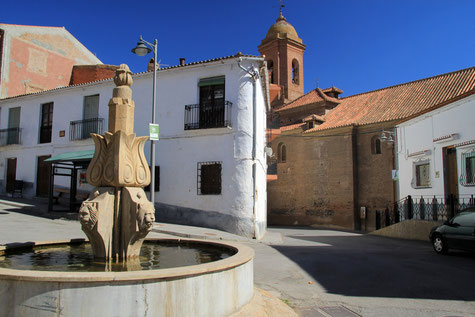 The center of Aldeire