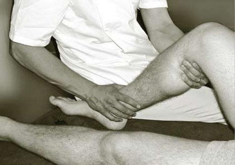 Traitement d'un genou