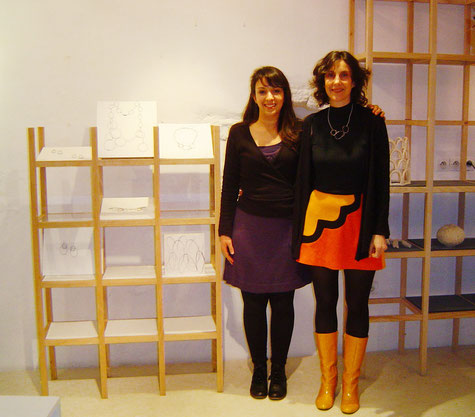2012, auprès de Florence Croisier, galerie La Manufacture, La Rochelle