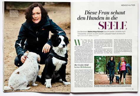 Klaus Lange for FÜR SIE, Die Hundeflüsterin