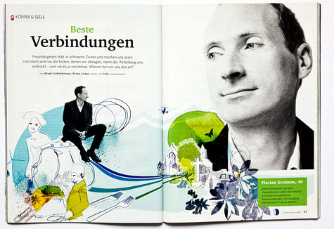Klaus Lange for STERN, Freundschaft