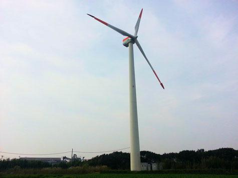 銚子の風車 2013-11-03