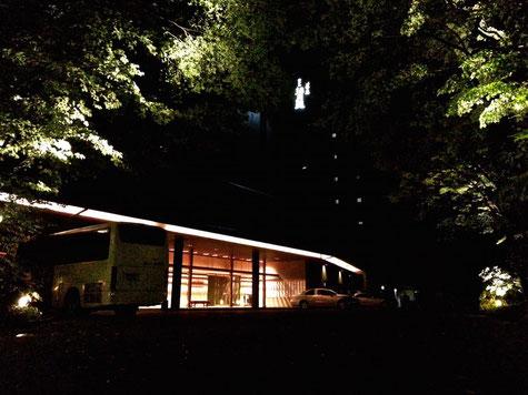 西村屋ホテル招月庭夜景