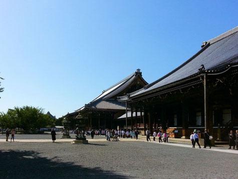 本願寺のお白洲