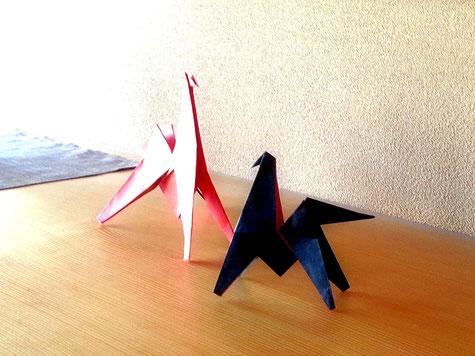 折り紙 馬