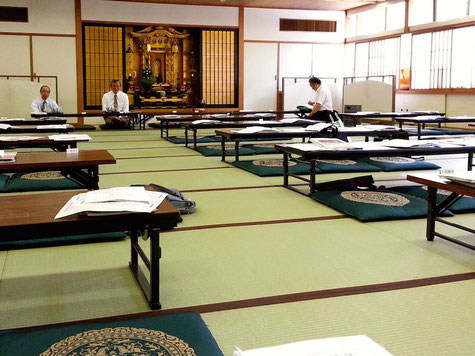 振風道場 2015年度東京教区千葉組組会風景