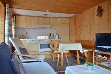 2 1/2 Zimmer Ferienwohnung in Samnaun Laret