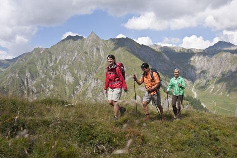 Wanderurlaub in Samnaun