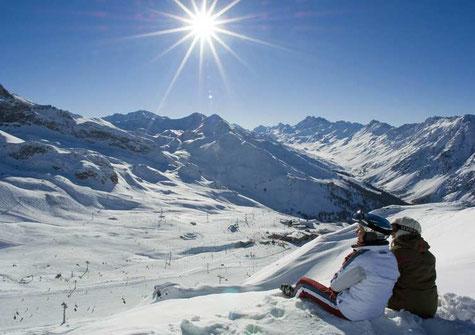 Ski- und Snowboardurlaub in der Silvretta Arena Samnaun - Ischgl