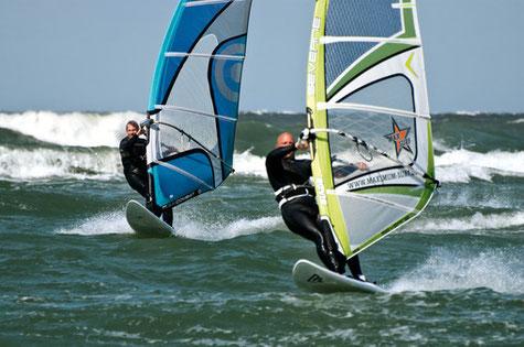 Surfen und Kiten auf dem Darß