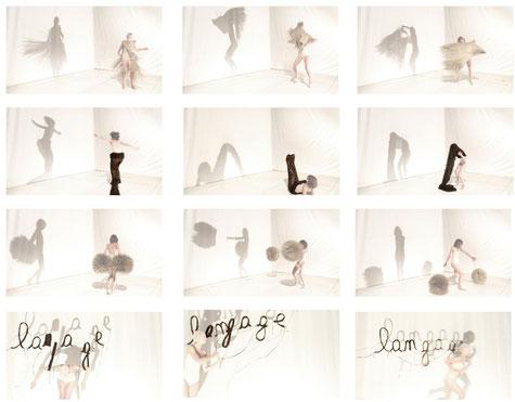 """Transferts"", impression digitale sur canevas, 113 x 113 cm, 2014"