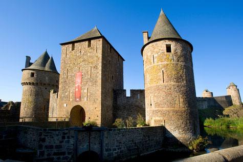 L'Avancée du château de Fougères © Hervé Ronné