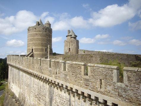 La tour Mélusine château de Fougères © Marina Maret CDT 35