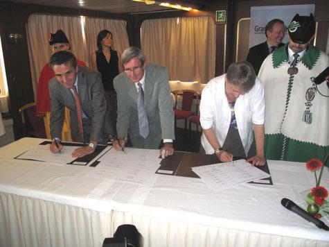 Signature du PA2 (image extraite du site officiel du Grand Genève