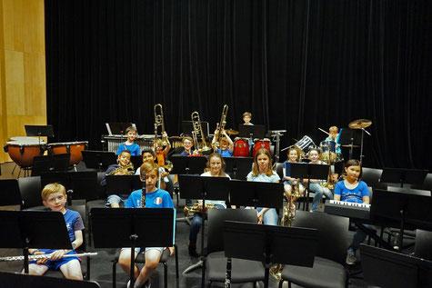 Ecole de musique EMC à Crolles - Grésivaudan : musiciens lors d'un concert à l'espace Paul Jargot