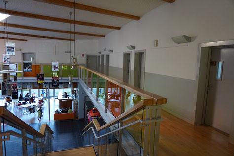Ecole de musique EMC à Crolles - Grésivaudan : salles de classes de l'espace paul jargot