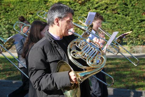 """Ecole de musique EMC à Crolles - Grésivaudan : l'instrument """"Cor"""""""