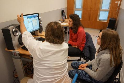Ecole de musique EMC à Crolles - Grésivaudan : cours collectif de MAO.