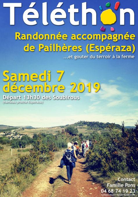 Rando Téléthon de Pailhères - Pyrénées Audoises