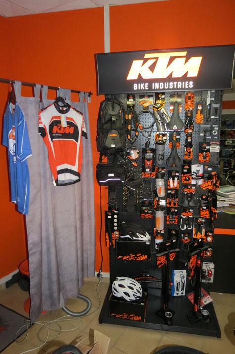 Tous les accessoires KTM