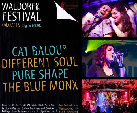 WALDORF GOES FESTIVAL: Different Soul ist dabei – wir freuen uns!