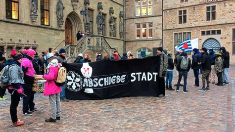 Demo in Osnabrück