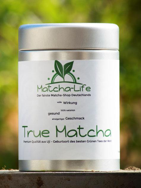 Bild: Matcha-Tee, True Matcha