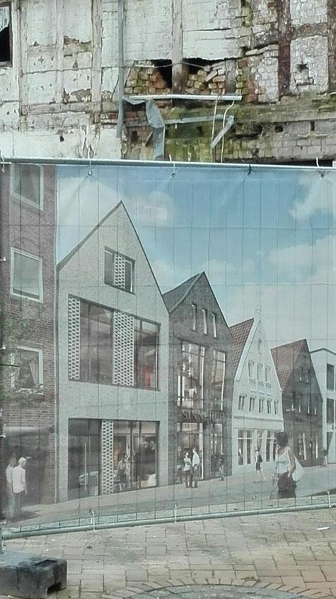 Baustelle in Flensburg