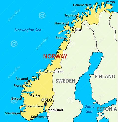 Zeiljachten te huur in Noorwegen voor een zeilvakantie vanuit Bergen
