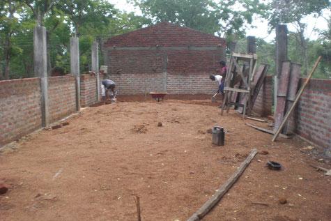 Kindergarten Baustelle Sommer 2012