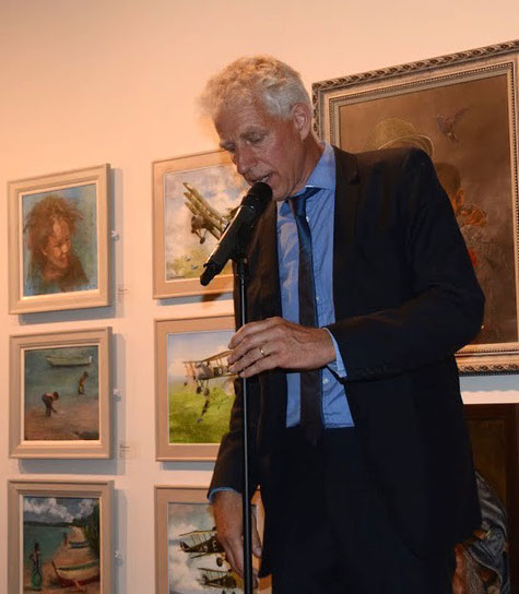 Rupert Maas opens the exhibition