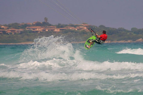 Kitesurf Schule Wet Dreams in Sardinien