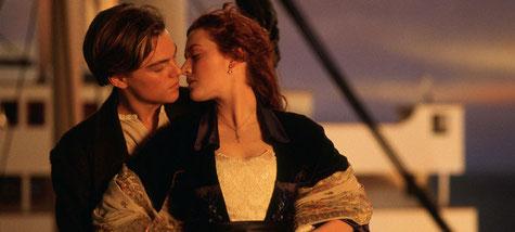 """""""Titanic"""" fut élu """"Meilleur film romantique des années 90"""" selon nos lecteurs en 2017."""